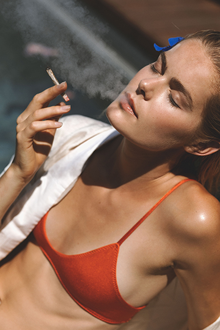 Editorial Stoned Fox Magazine by Mathilde Bresson